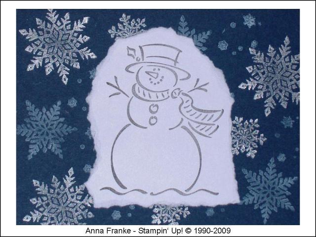 Karte Frosty