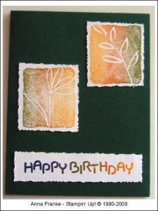 Karte Geburtstag 1