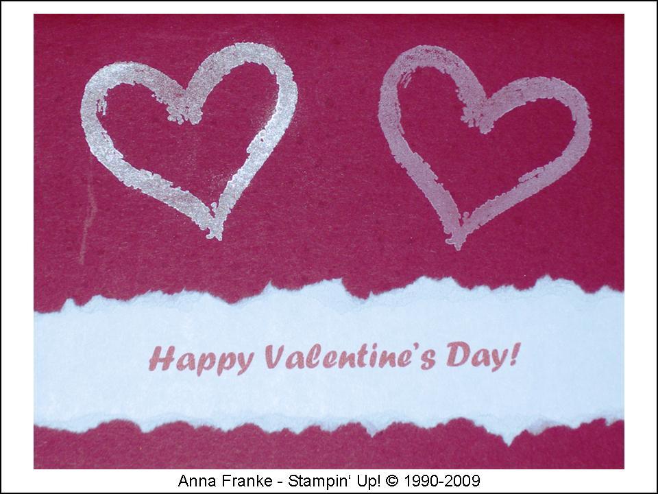 Liebe / Hochzeit. Karte Valentinstag