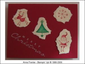 Karte Weihnachten 2